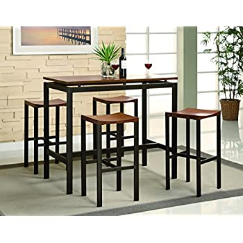 this item coaster home furnishings 150097 5 piece casual dining room set black - Dining Room Items