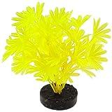 Blue Ribbon PET PRODUCTS 030157017026 Colorburst Florals Palm Plant, Neon Yellow