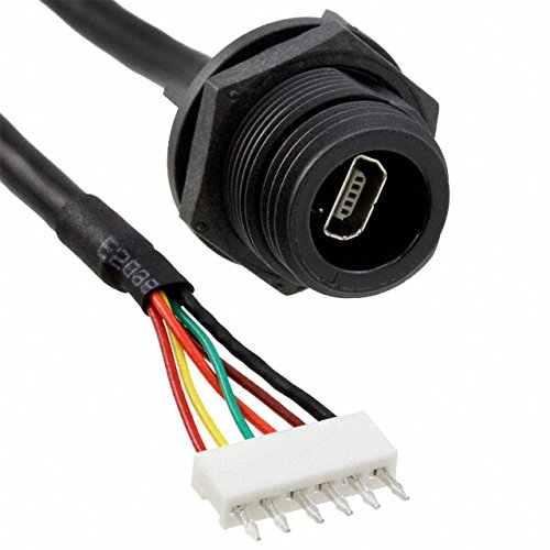 CABL IP68 AB MINI USB-6WAY CRIMP, (Pack of 1)