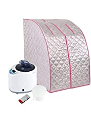 Spa Steamer Tent, Detachable Thickening Fabric Professional Sauna Steamer for Body Fat Reduction and Body Slimming