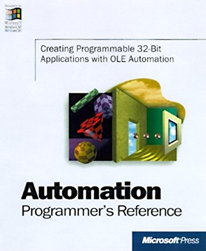 Automation Programmers Reference (Microsoft Programming Series) by Brand: Microsoft Press