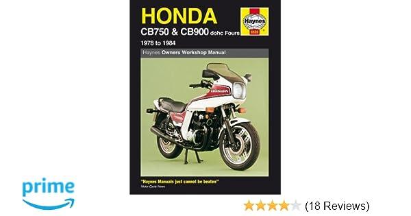 honda cb 750 900 79 83 haynes repair manuals haynes