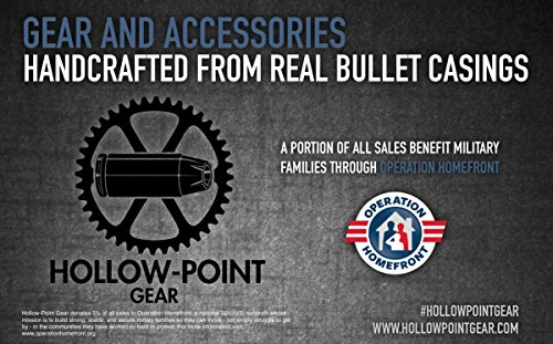 Hollow-Point Gear Bullet Tire Caps for Jeeps - Set of 5 Recycled Brass .40 Caliber Once-Fired Bullet Casing - Car, Bike, Motorcycle, Truck, ATV Replacement Tire Valve Caps. Gift for Military by Hollow-Point Gear (Image #3)