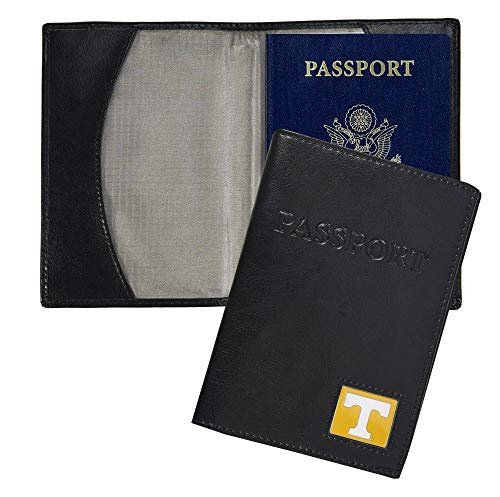 (NCAA Tennessee Volunteers Leather Passport Cover)