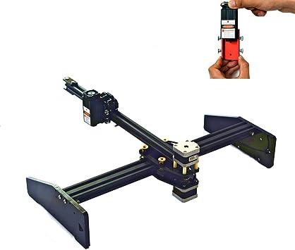 Máquina de Grabado Industrial Cnc Gravure Engraving Computadora de Escritorio Pequeña Máquina de Corte Totalmente Eléctrica Eléctrica Plotter DIY Figura LOGO Máquina de Marcado,500mw: Amazon.es: Bricolaje y herramientas