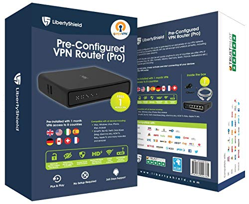 Pre Configured Multi Country VPN Router - Pro