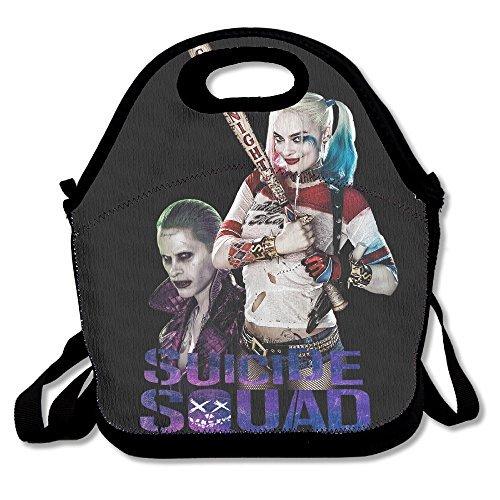 Willcallyou Lunch Tote Bag-- Harley Quinn Harley Quinn And Joker (Joker Customes)