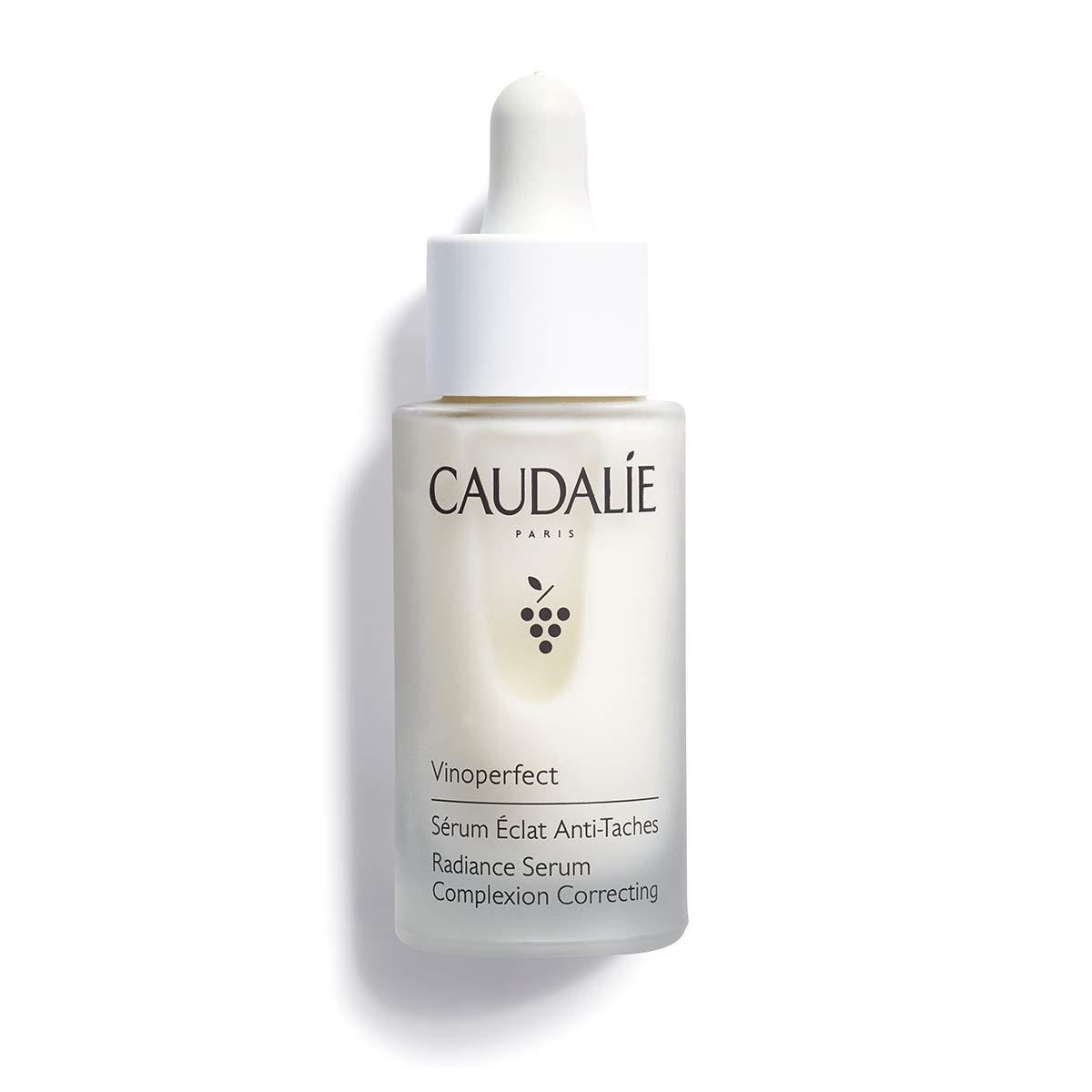 Caudalie Vinoperfect Brightening Radiance Serum: Anti-Dark Spot Serum to Visibly Brighten + Even Skin Tone- 1 Oz