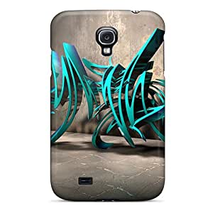 PyD9927RLcF Tpu Cases Skin Protector For Galaxy S4 3d Graffiti Background Iii With Nice Appearance Black Friday