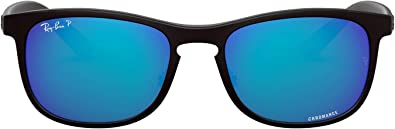 ray ban wayfarer polarized blue mirror