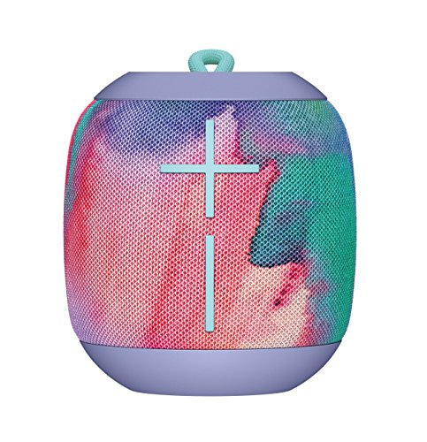 Logitech Ultimate Ears WONDERBOOM Super Portable Waterproof Bluetooth Speaker Freestyle Collection – Unicorn