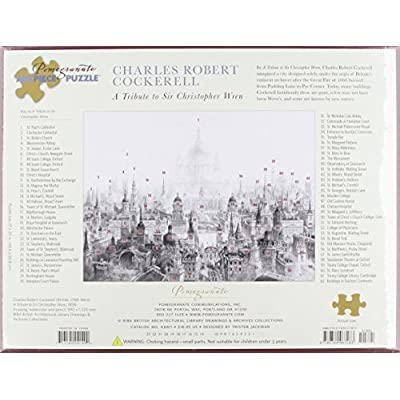 A Tribute To Sir Christopher Wren 1000 Piece Puzzle Inglese