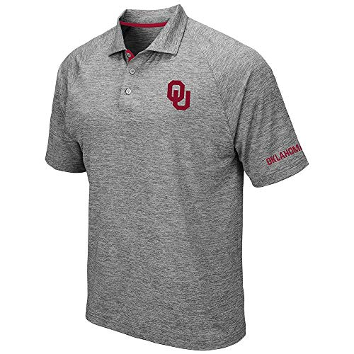 Mens Oklahoma Sooners Raglan Polo Shirt - XL