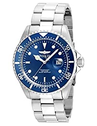 Invicta Men's 'Pro Diver' Quartz Stainless Steel Casual Watch (Model: 22019)