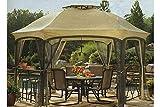 The Outdoor Patio Store High-Grade 300D Replacement Canopy for Garden Oasis Dawson Hexagonal Gazebos Review