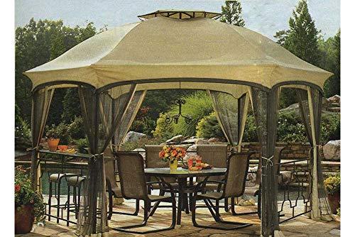 (The Outdoor Patio Store High-Grade 300D Replacement Canopy for Garden Oasis Dawson Hexagonal Gazebos )
