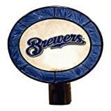MLB Milwaukee Brewers Art-Glass Nightlight