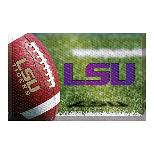 LSU Football Scraper Door Mat