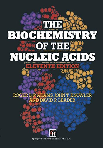 The Biochemistry of the Nucleic Acids (Space Sciences)