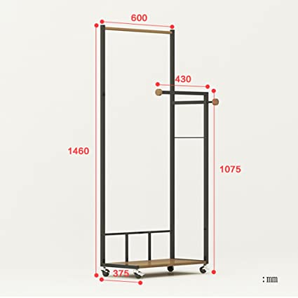 Amazon.com: Qfgis - Perchero de pared para dormitorio ...