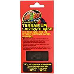 Zoo Med Laboratories SZMNTM12 Terrarium Mesh, 12 By 12-Inch