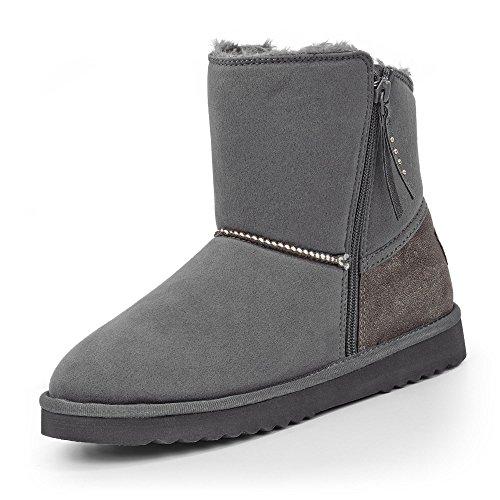 ESPRIT Uma Zip Boots Grau
