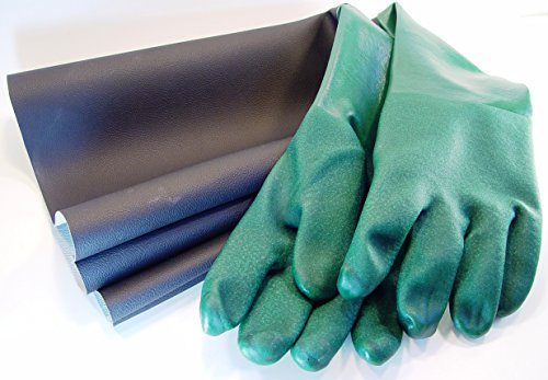 "GLOVES for Sandblaster Blast Cabinet - 1 Pair - 24"" x 7-1/4"" - SIZE: EXTRA-LARGE - Made in USA by Tacoma Company"