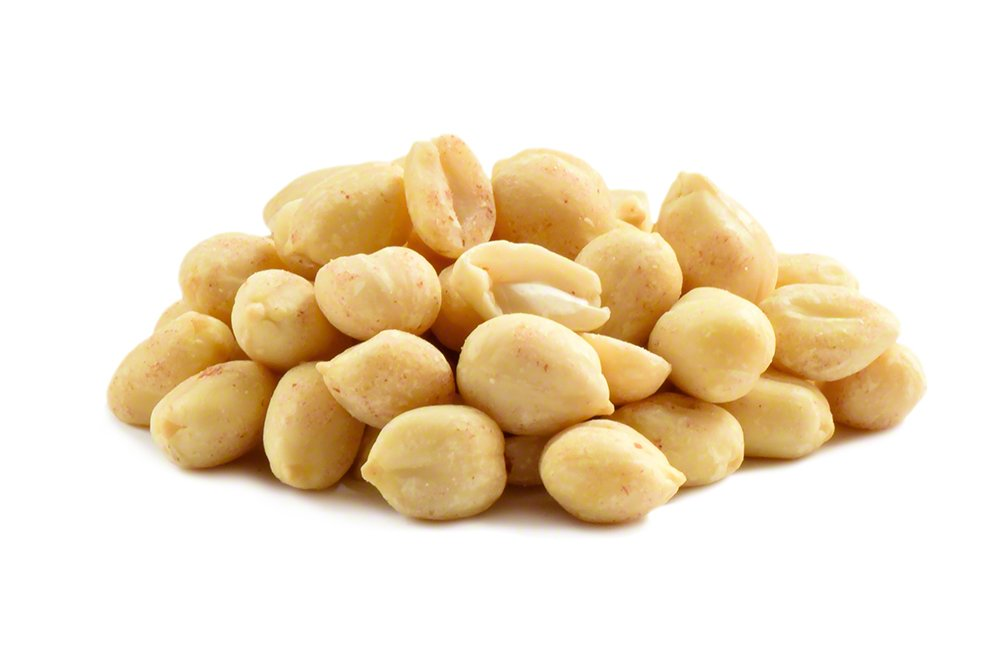 Hohoshi Blanched Raw Peanuts 5 LB, Unsalted, Good Quality, No Shell and No Skin, Great for Peanut Butter, Brittle, and Snacks