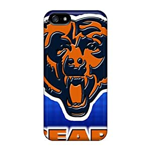 Excellent Iphone 5/5s Case Tpu Cover Back Skin Protector Chicago Bears