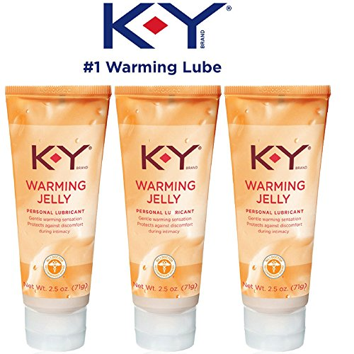 (K-Y Warming Jelly Personal Lubricant, 2.5 oz (Pack of 3))