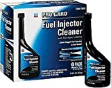 Chevron Pro Gard Fuel Injector Cleaner *** Product Description: Chevron Pro Gard Fuel Injector Cleaner. Case Pack 6. Features: Fast- Cleans Clogged Fuel Injectors In One Tankful Techron Additive Removes Deposits From Fuel Injectors Safe For: Cata ***