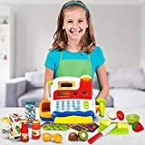 FUNERICA Durable Cash Register Toy for Kids