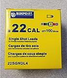 .22 Caliber Yellow Powder Load Neck down for Powder Actuated Tool Gun Fastener. Box of 100 shots Item#22SGNDL4