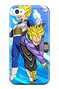 Iphone Cover Case - Dbz Vegeta Protective Case Compatibel With Iphone 4/4s