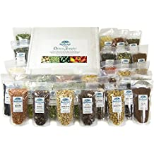 Harmony House Foods Deluxe Sampler (30 Count, ZIP Pouches) for Cooking, Camping, Emergency Supply, and More