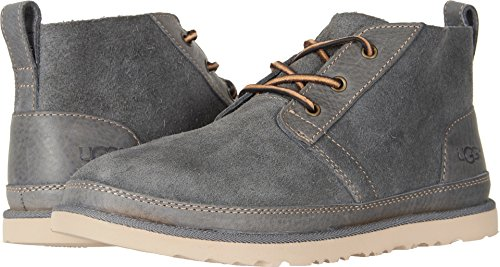 - UGG Men's Neumel Unlined Leather Sneaker, Charcoal, 11 M US