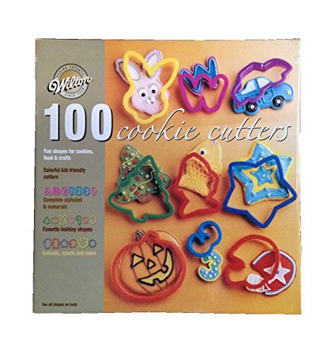 100 wilton cookie cutters - 1