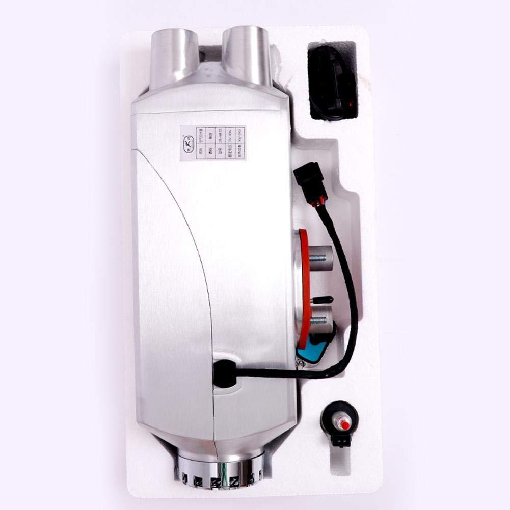... de Combustible 5KW 12V / 24V Monitor de LCD de Cuatro Orificios Mejora el termostato LCD para camión Remolque Marino autobús: Amazon.es: Coche y moto