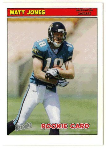 - Matt Jones RC (Football Card) 2005 Topps Bazooka # 206