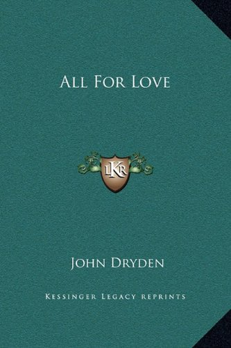 Download All For Love PDF
