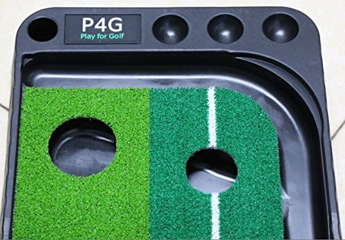 Indoor Golf Set P4G Ball Auto Return Putting Mat Indoor and Outdoor Mini Golf by P4G (Image #3)