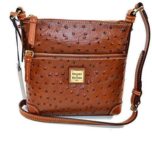 dooney-bourke-ostrich-emb-leather-letter-carrier-cognac