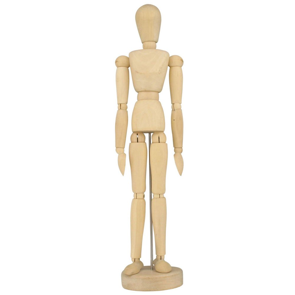Artists Wooden Manikin Mannequin Lay Figure 12
