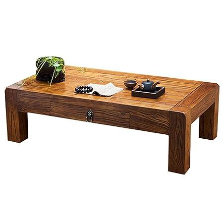 Mesa de café cuadrada PHH para balcón informal, pequeña mesa de ...