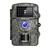 """Victure Trail Game Camera Night Vision Motion Activated Hunting Cam 12MP 1080P 2.4"""" LCD Waterproof Wildlife Camera for Outdoor Surveillance"""