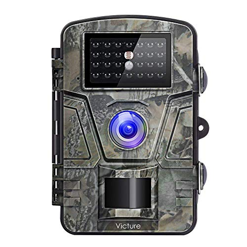 "Victure Trail Game Camera Night Vision Motion Activated Hunting Cam 12MP 1080P 2.4"" LCD Waterproof Wildlife Camera for Outdoor Surveillance"