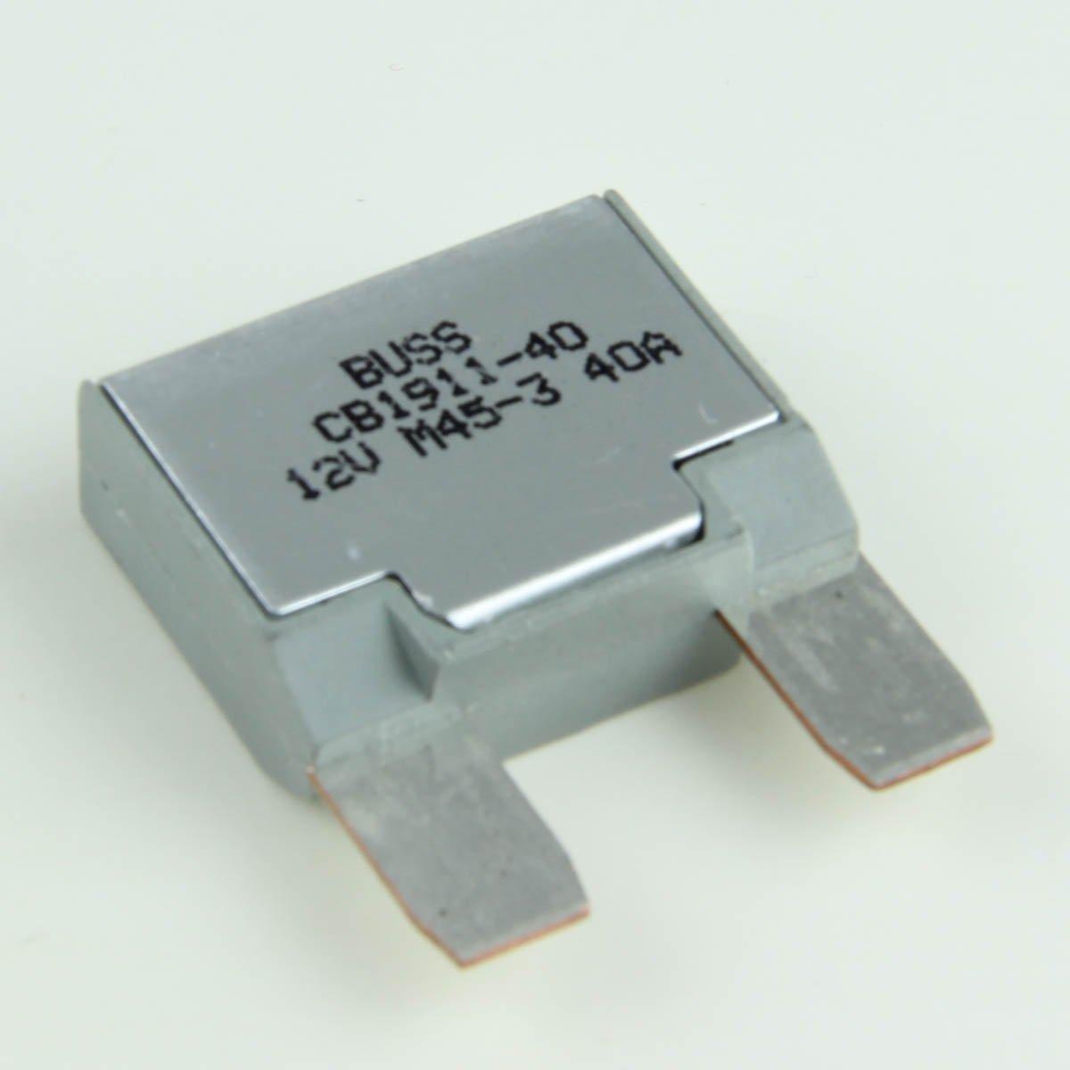 40 Amp Auto-Reset Maxi Blade-Style Circuit Breakers (1 per pack) Crimp Supply LEPUSPTLSHI6532