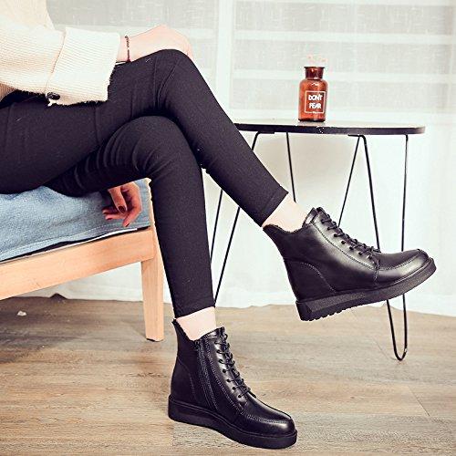 Les De six Chaussures Velours Le Avec KHSKX Thirty Correspond Style Bottes Martin Des D'Hiver Bottes Britannique npqBwB0WtT