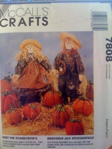 McCall's Crafts #7808 Girl, Boy 21