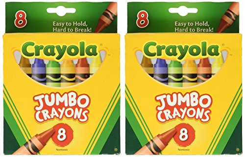 (Crayons Jumbo 8ct Peggable Tuck Box [Set of 2])